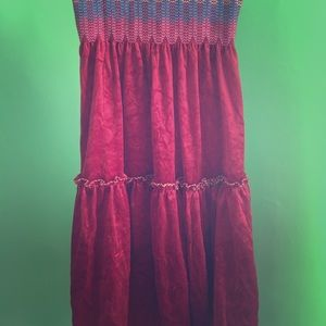 Vintage Michael Philip of London Velvet Dress